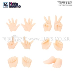 Picconeemo D Hand parts set / Hand and Foot small(WHITE)